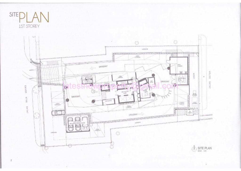 8 Raja - Site Plan 1st Floor
