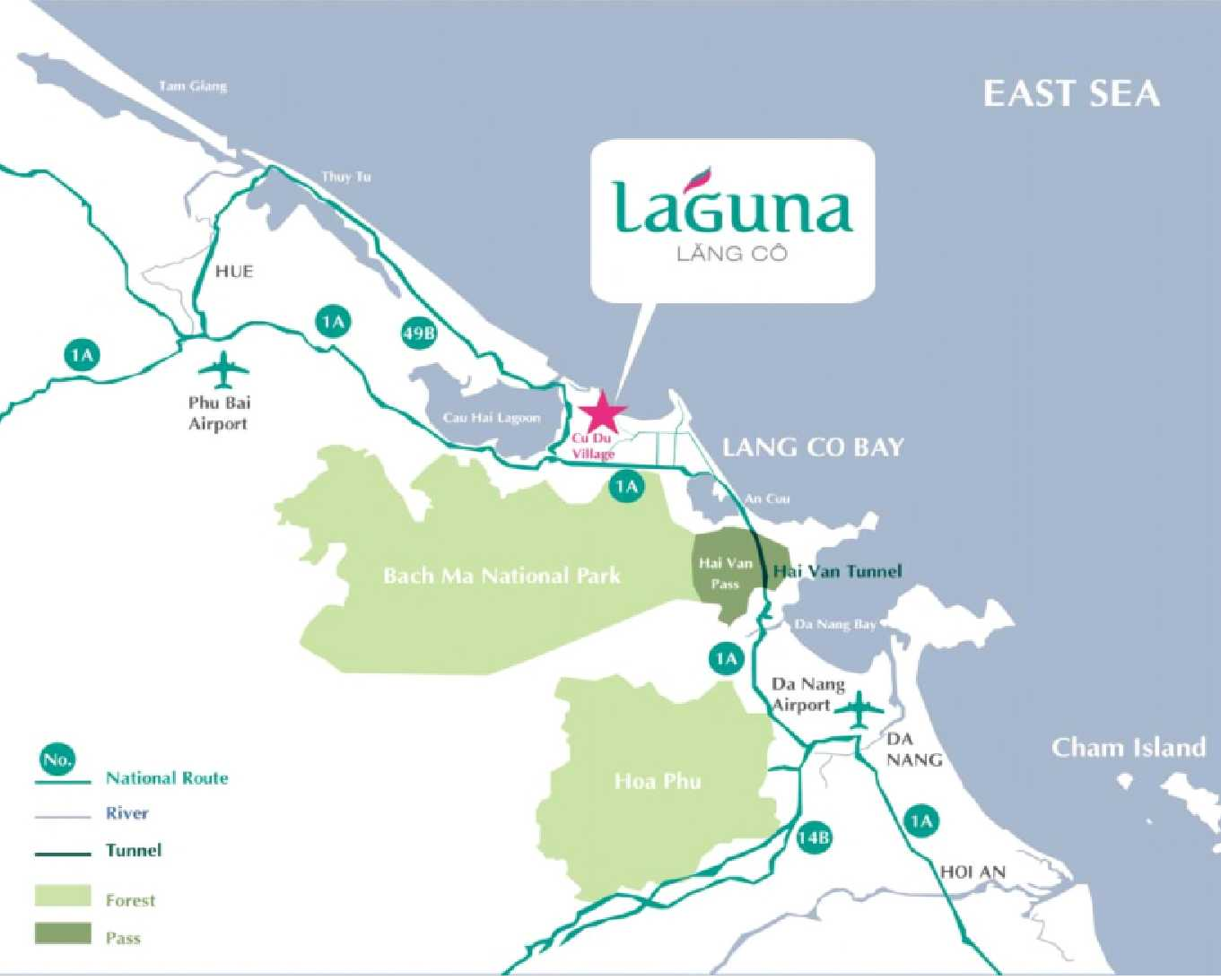 Laguna Lang Co - Location & Accessibility