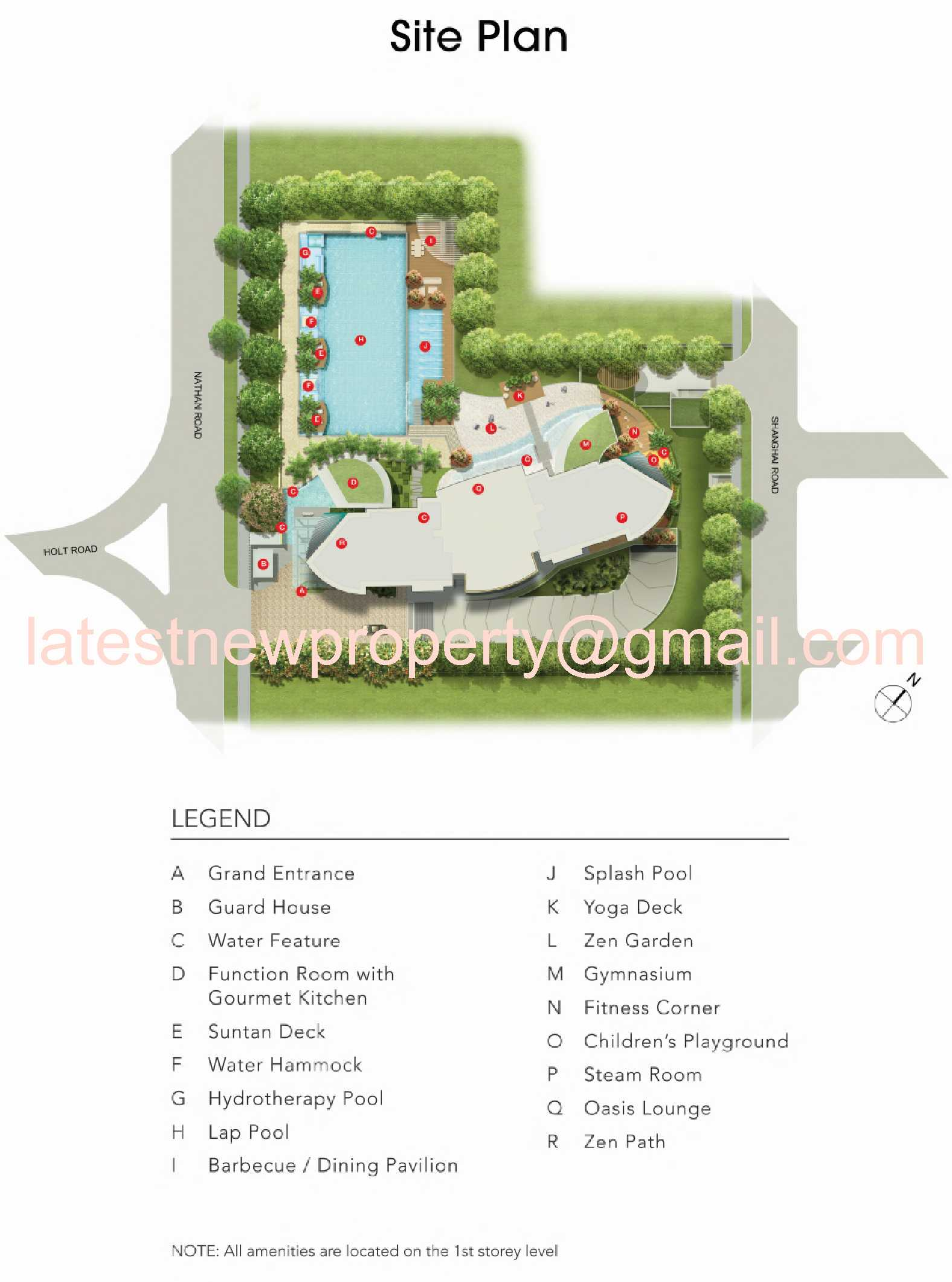 Nathan Suites Site Plan