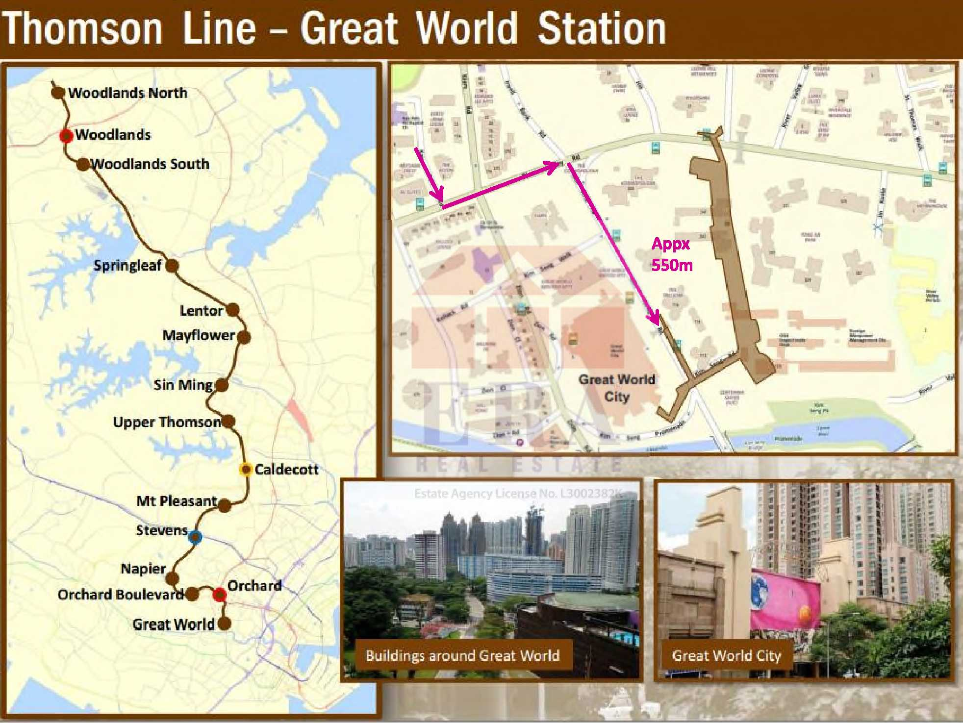 Thomson Line - Great World Station