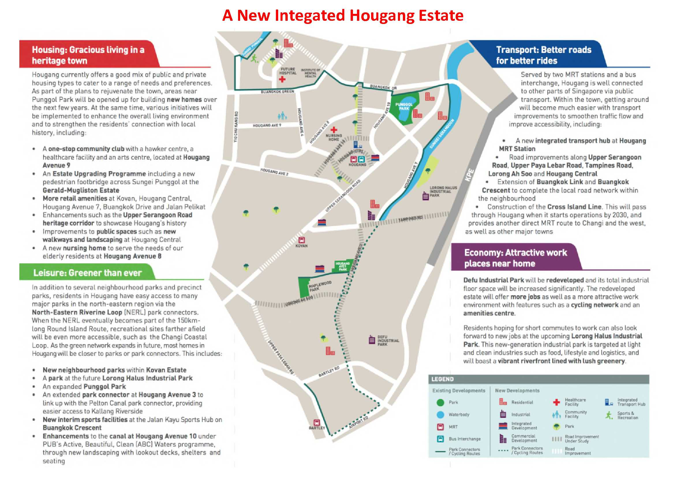 A New Integrated Hougang Estate
