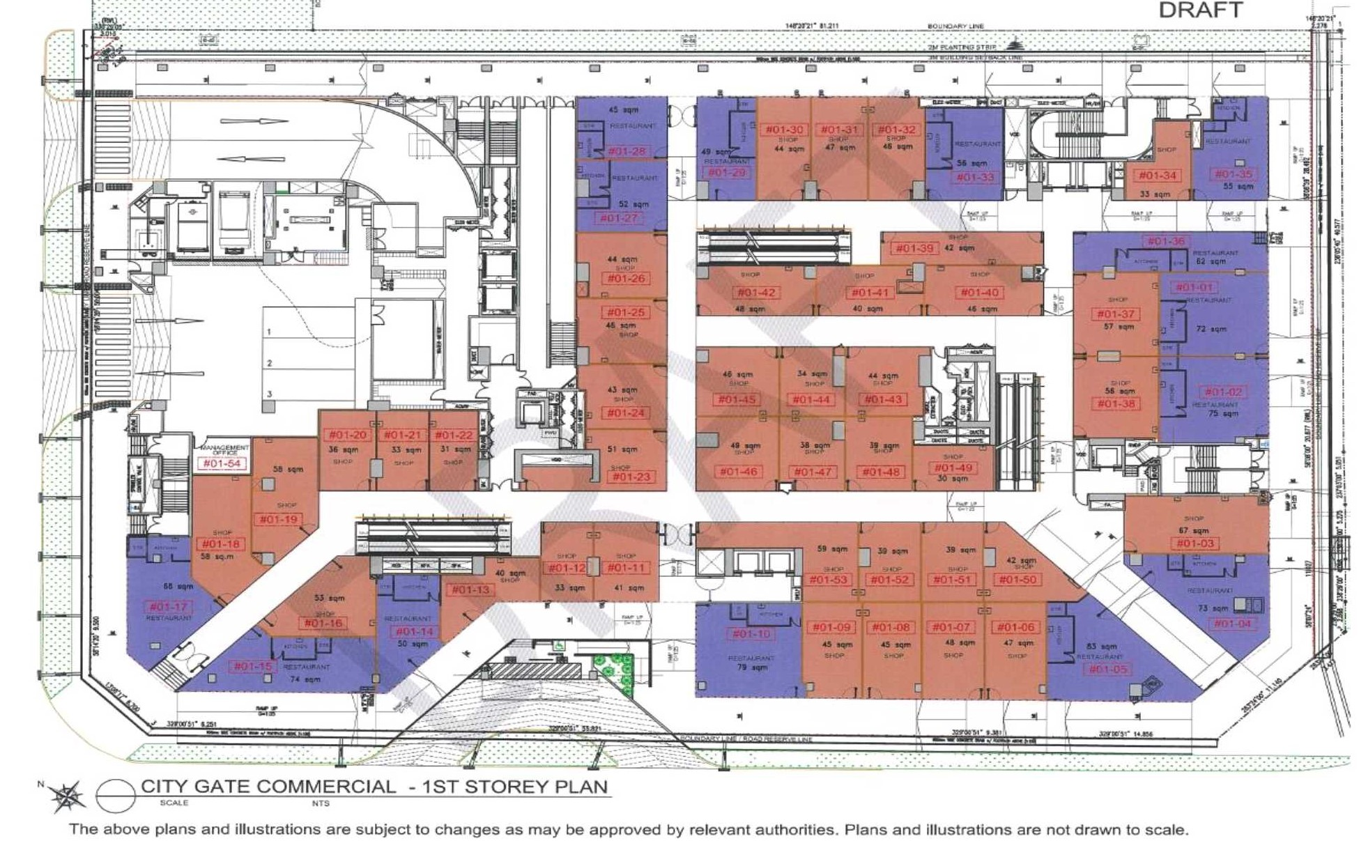 City Gate Commercial Site Plan 2