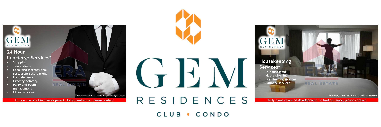 GEM Residences Club Services 2