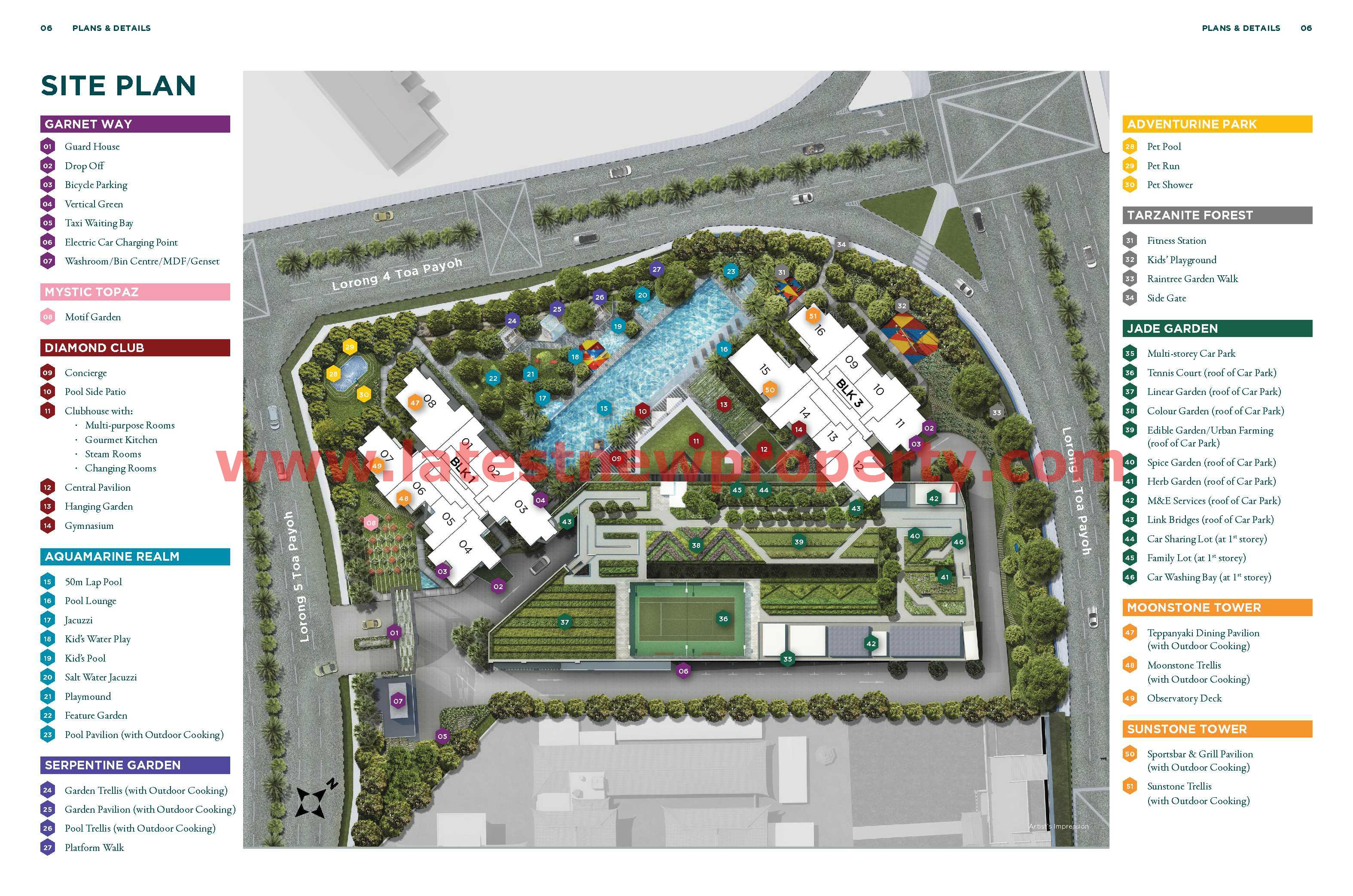 GEM Residences- Site Plan