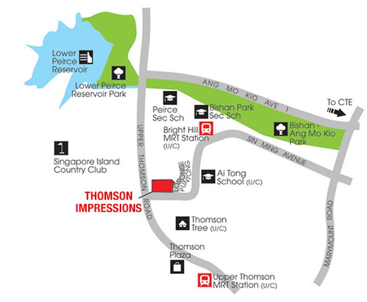 Thomson Impressions Location