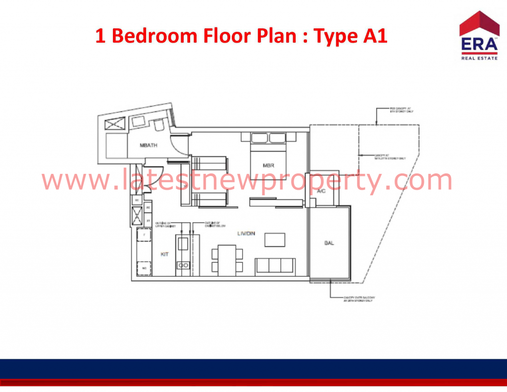 Cairnhill Floorplan Type A1