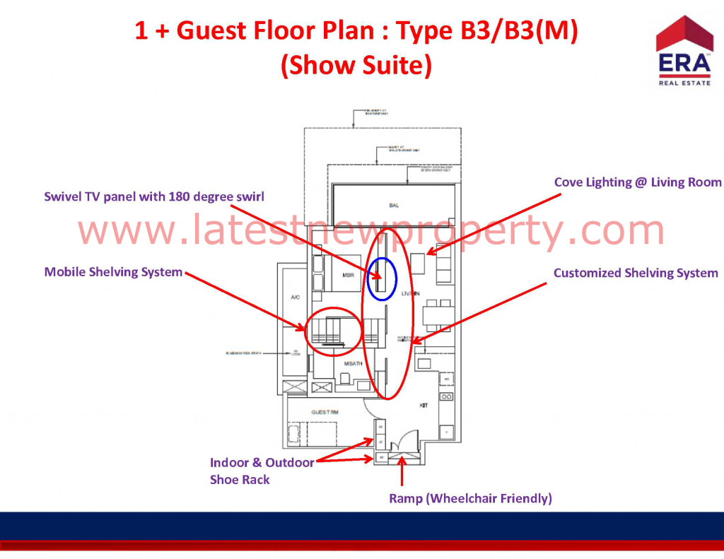 Cairnhill Floorplan Type B3