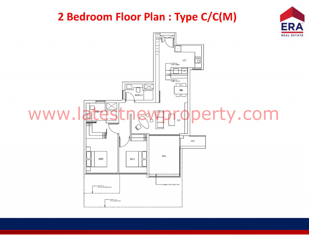 Cairnhill Floorplan Type C