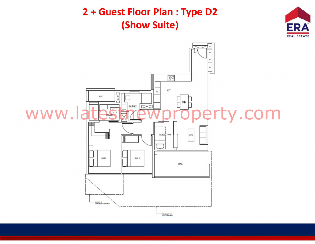 Cairnhill Floorplan Type D2