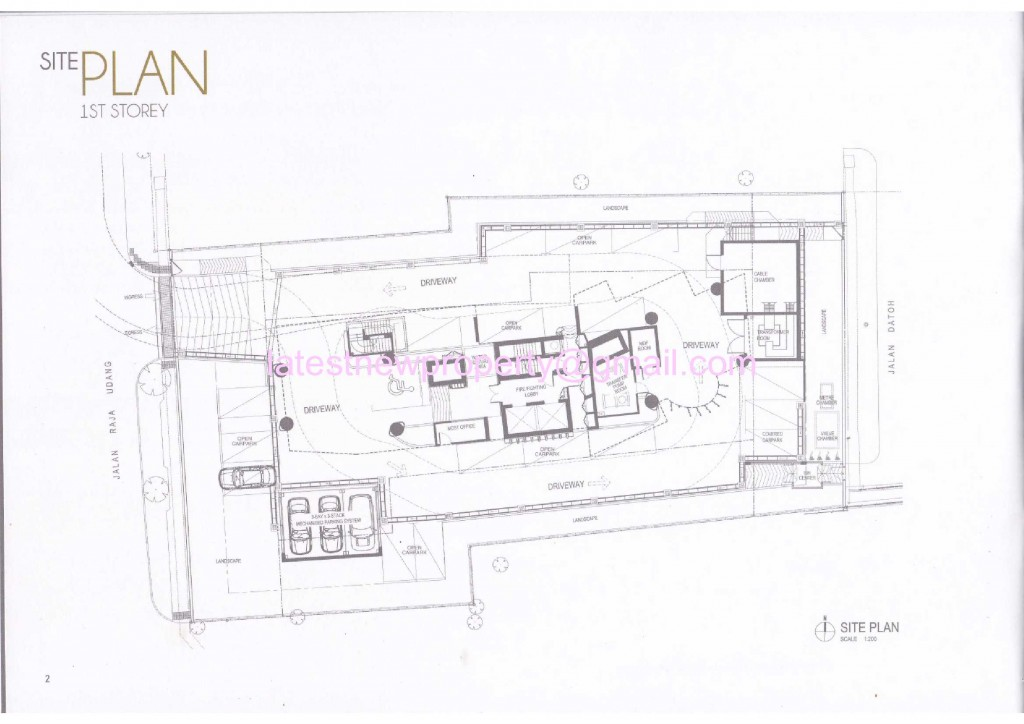 8 Raja - Site Plan 1st Floor