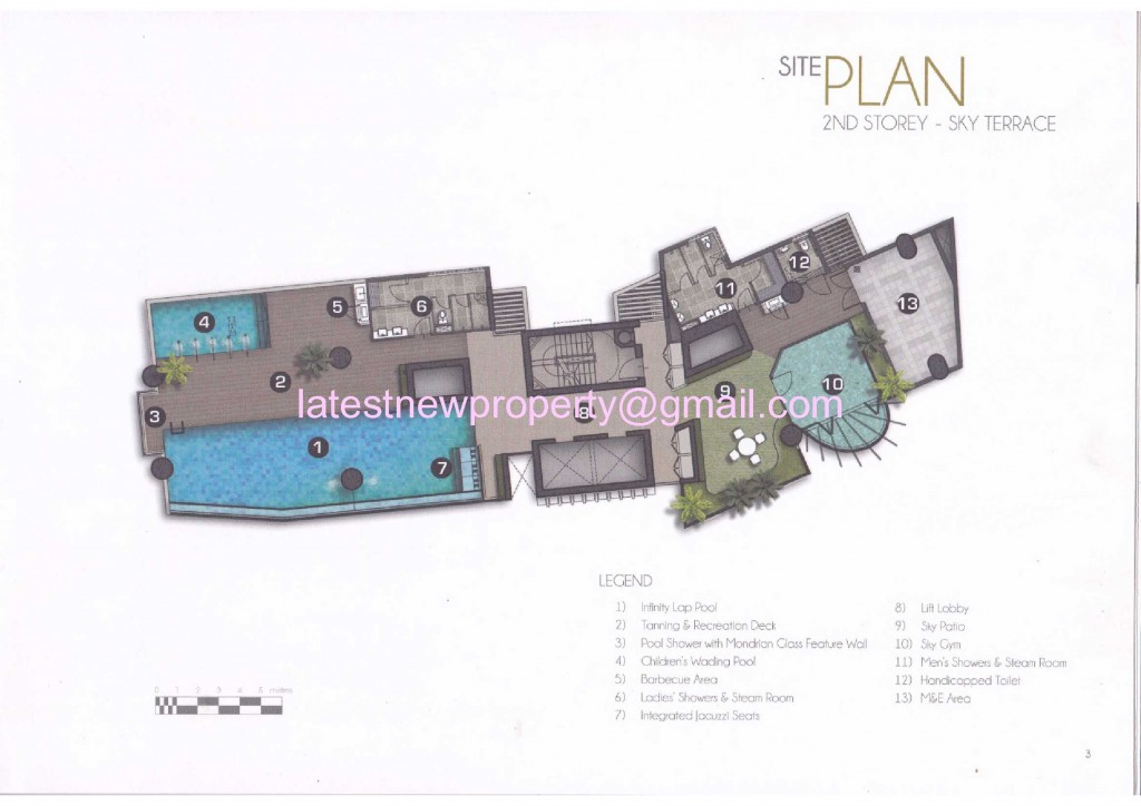 8 Raja - Site Plan 2nd Floor