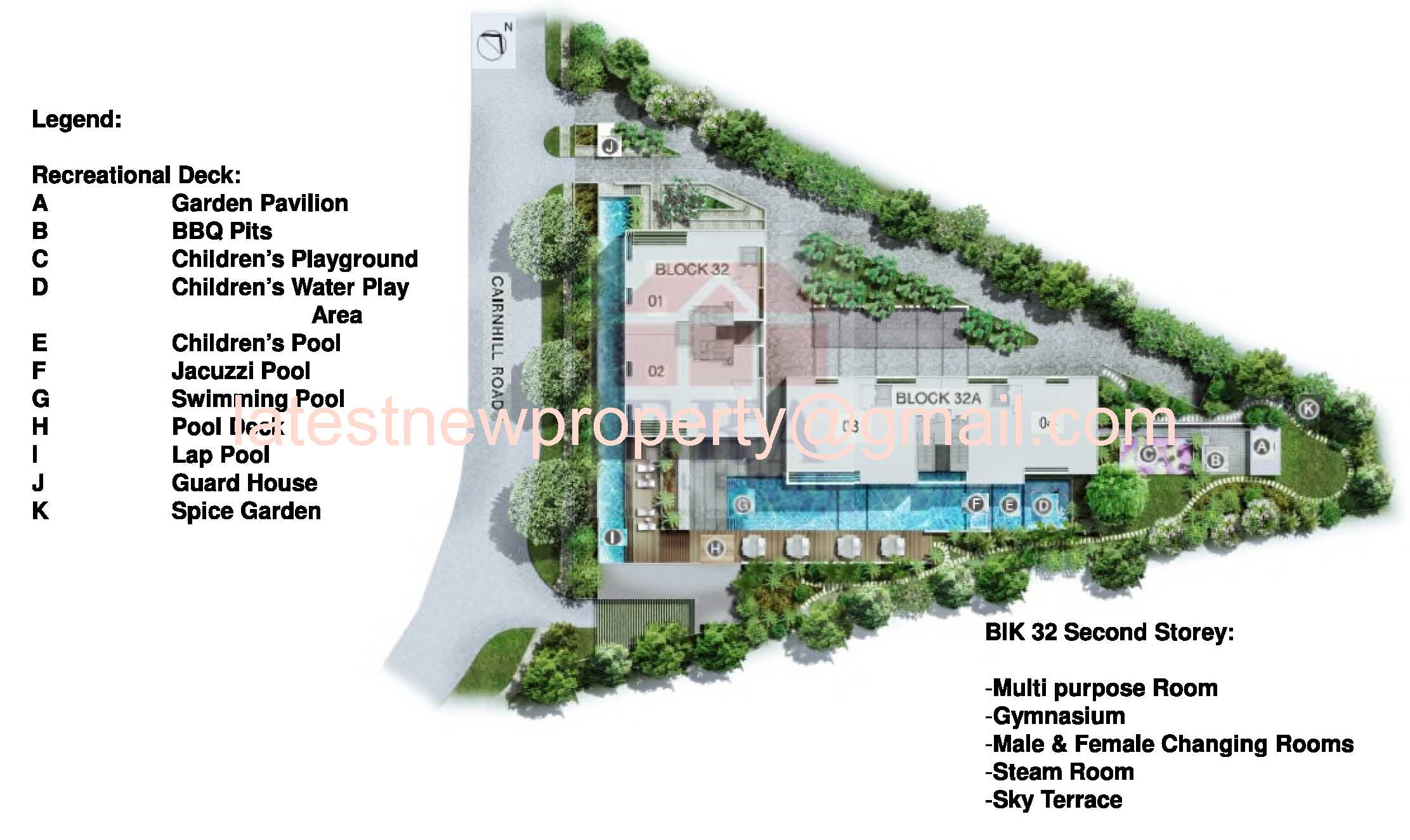 Urban Resort Site Plan