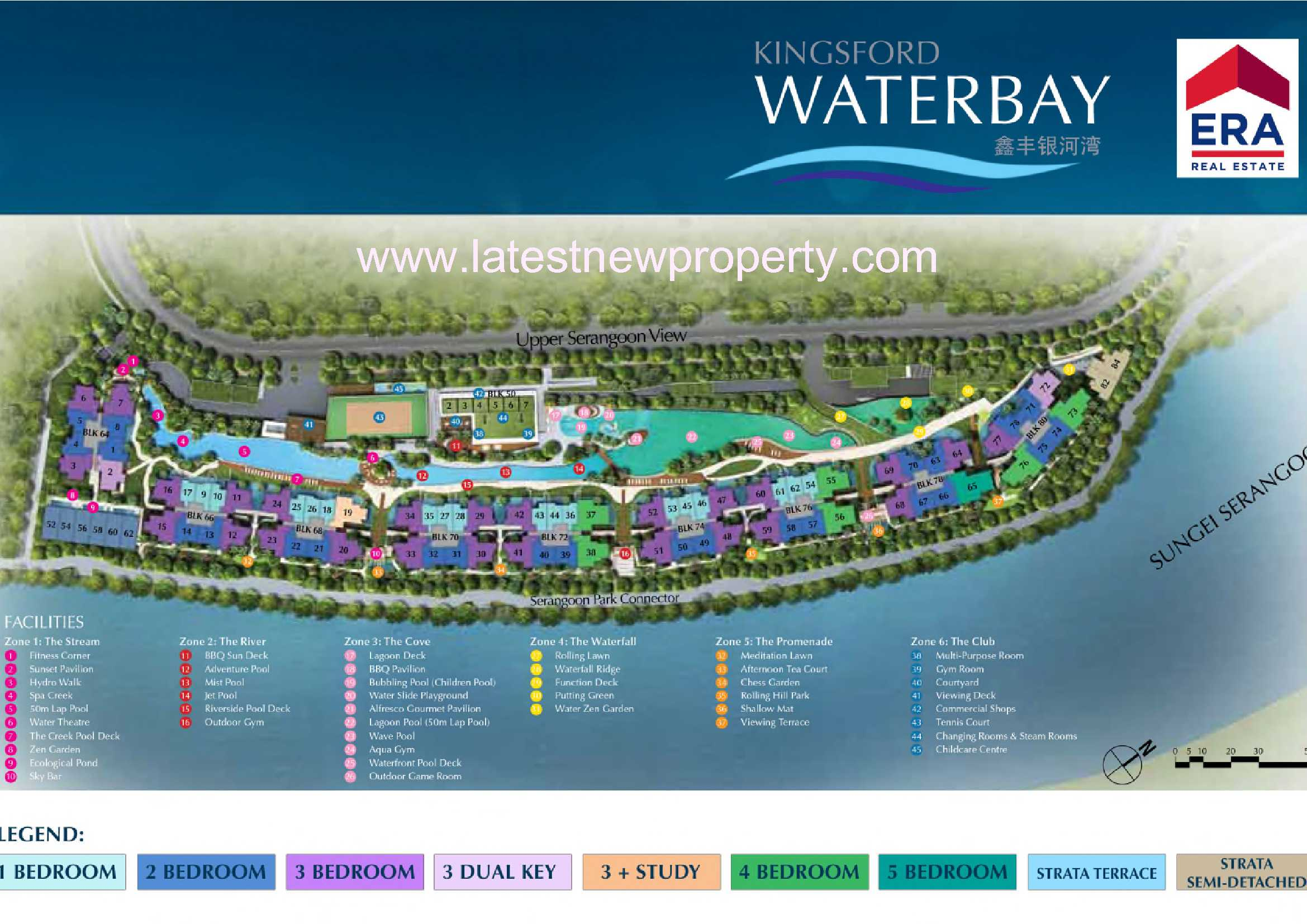 Kingsford WaterBay-Siteplan (Coloured)
