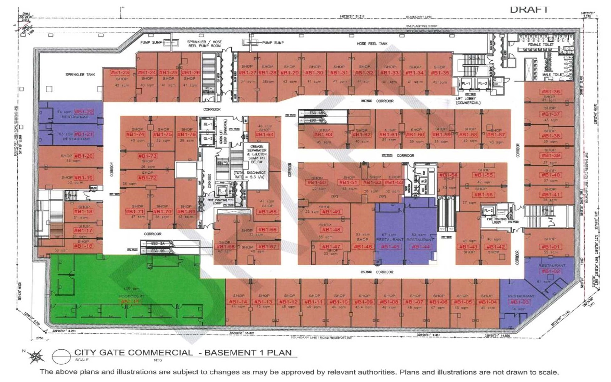 City Gate Commercial Site Plan 1