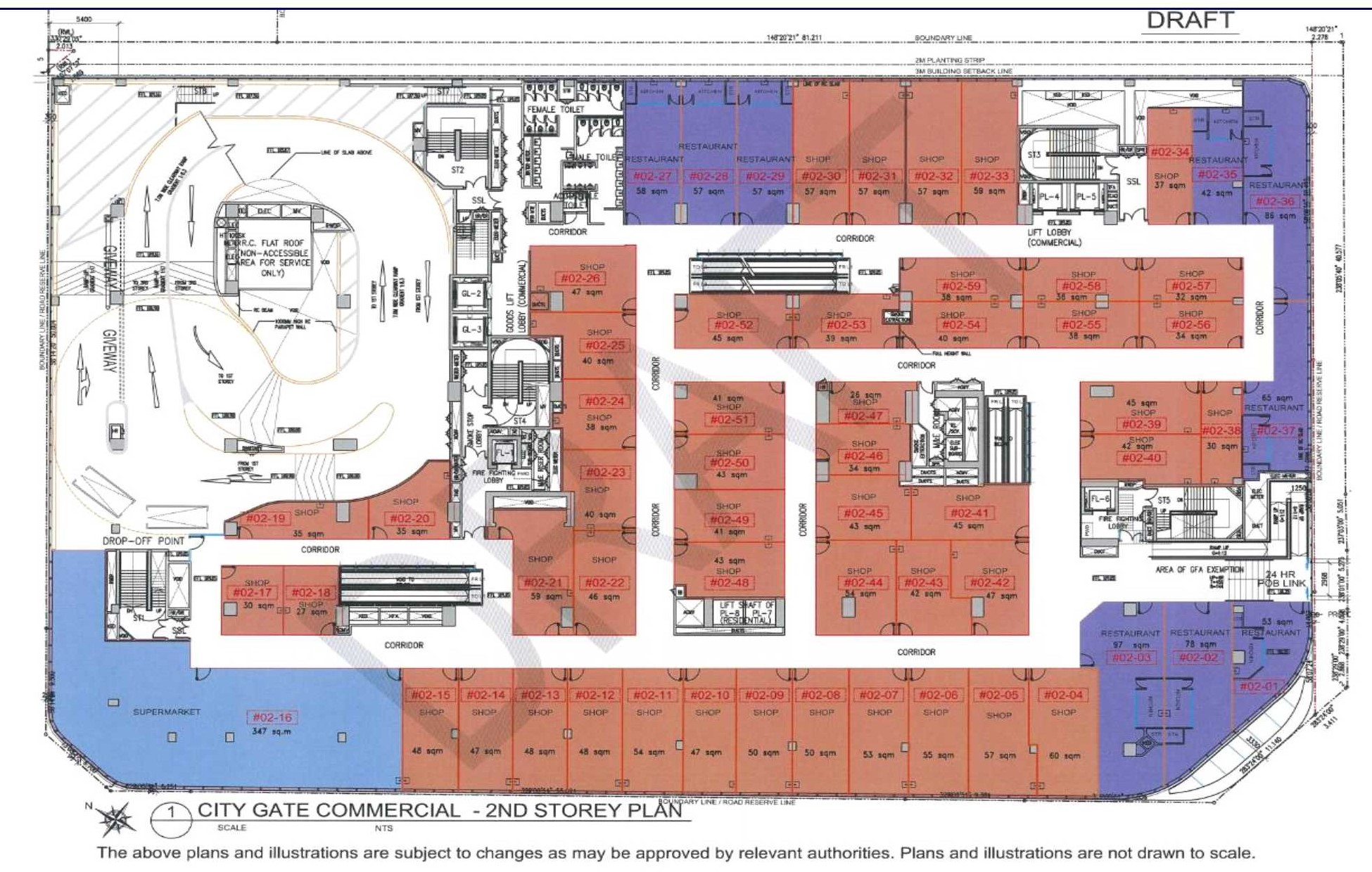 City Gate Commercial Site Plan 3