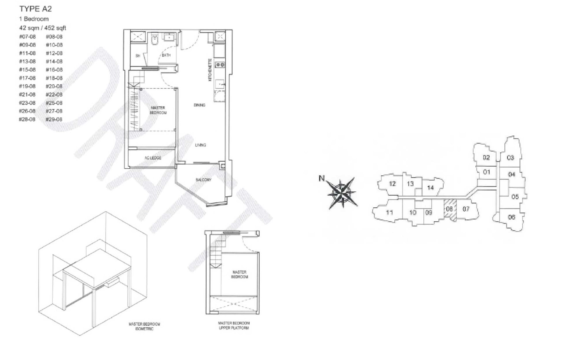 City Gate Floor Plan - A2