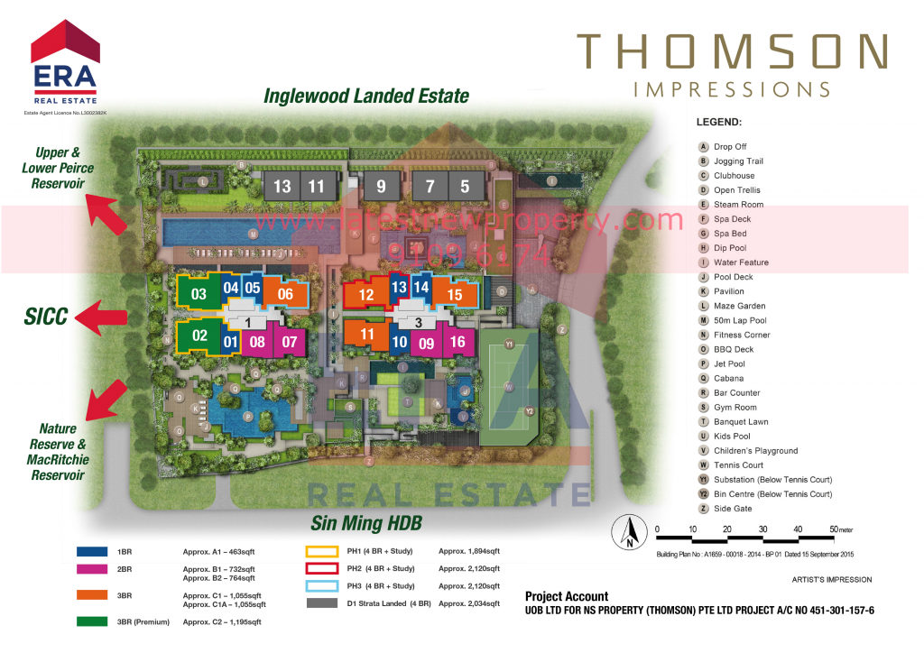 Thomson Impressions Site Plan WM