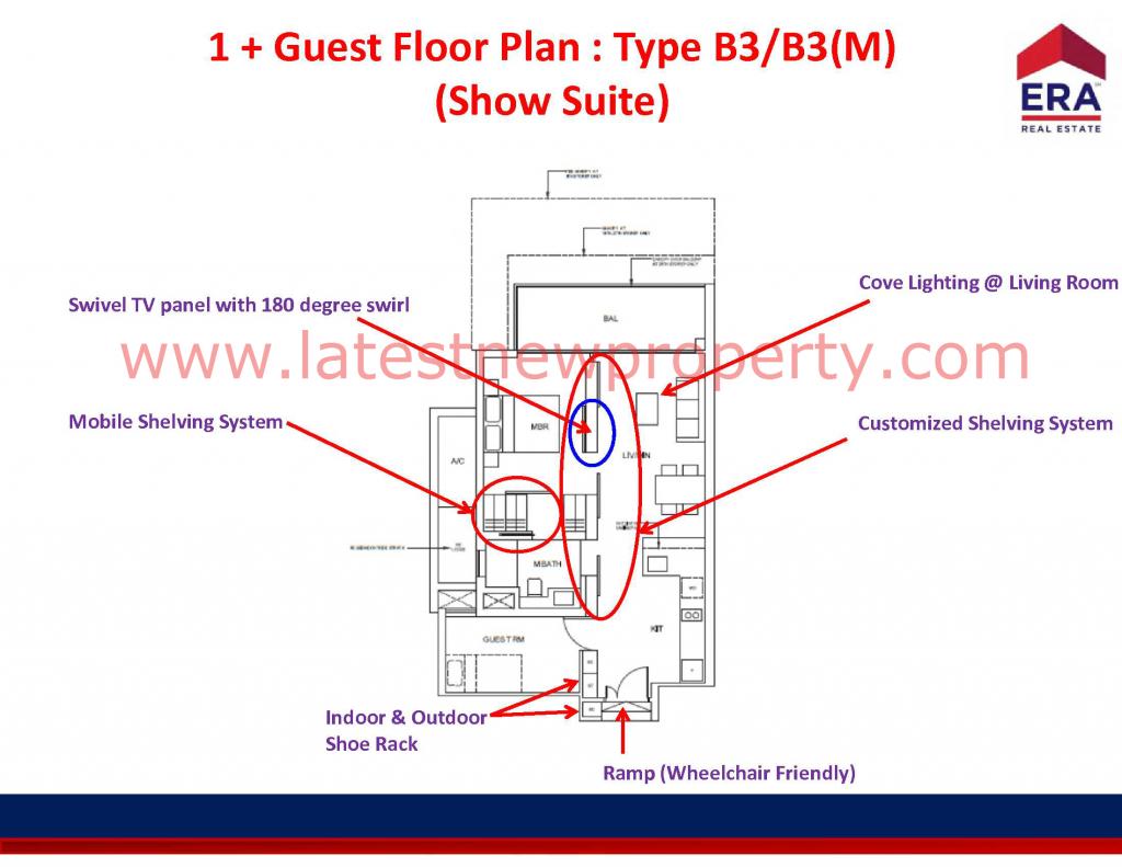 Cairnhill Floorplan Type B3