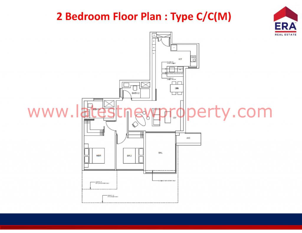 Cairnhill Floorplan Type C
