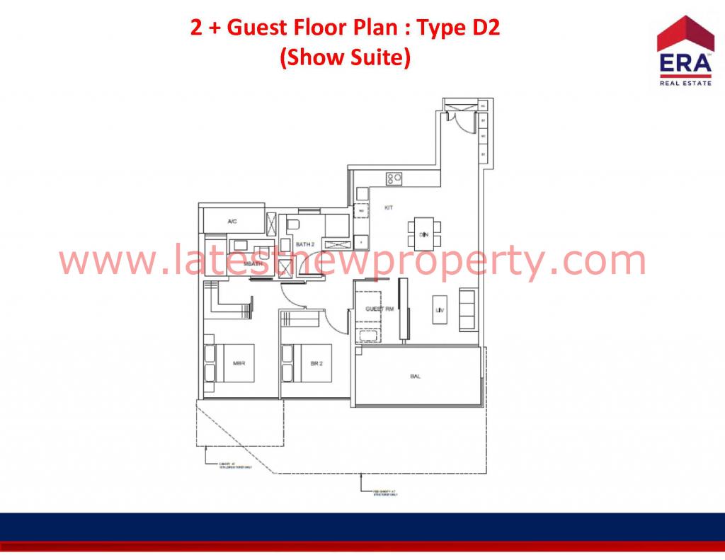 Cairnhill Floorplan Type D2