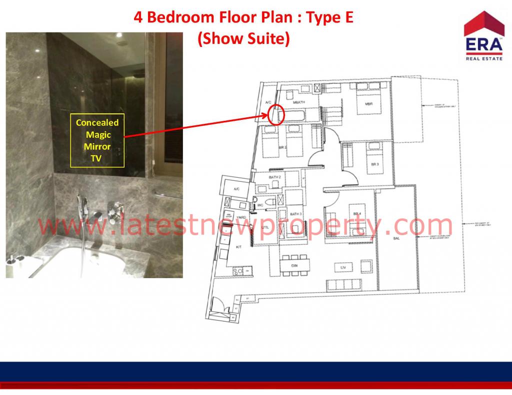 Cairnhill Floorplan Type E